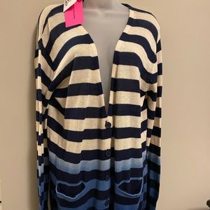 NWT Betsey Johnson Cardigan Size L